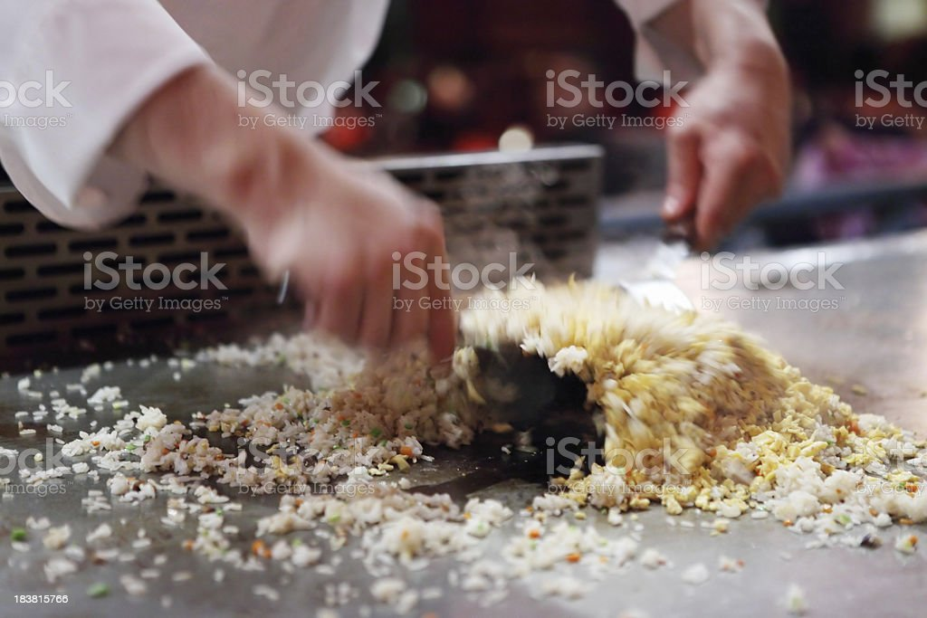 Japanese Cook royalty-free stock photo