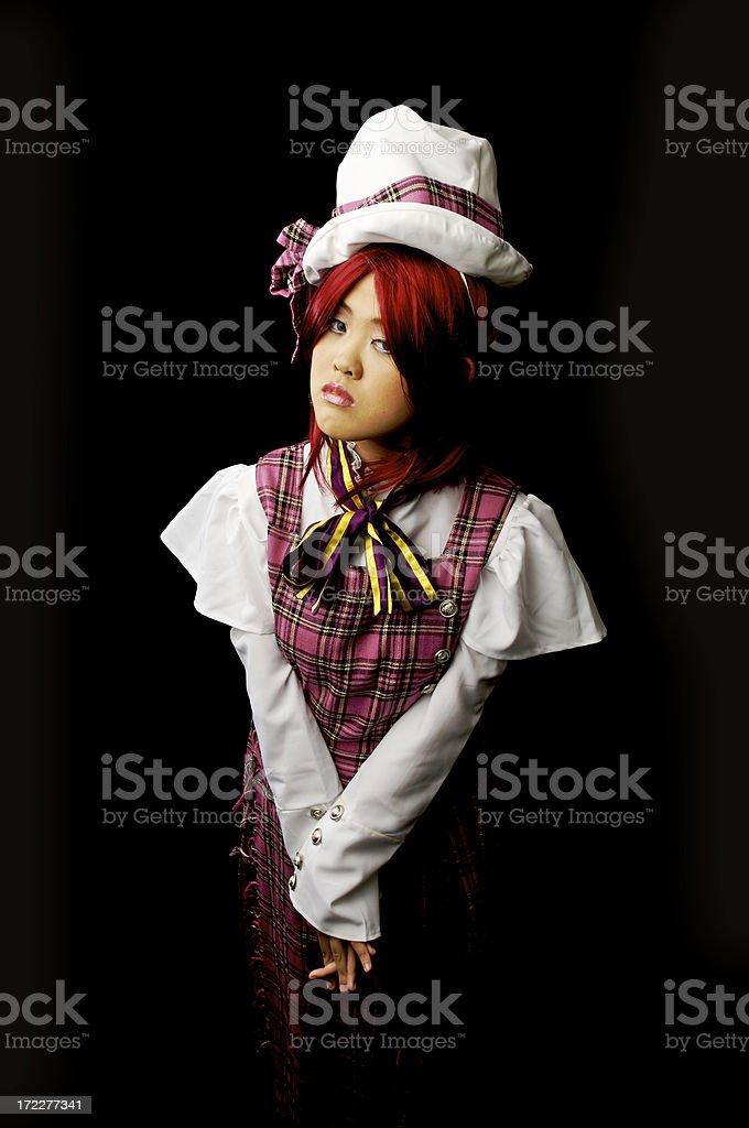 Japanese Cosplay royalty-free stock photo