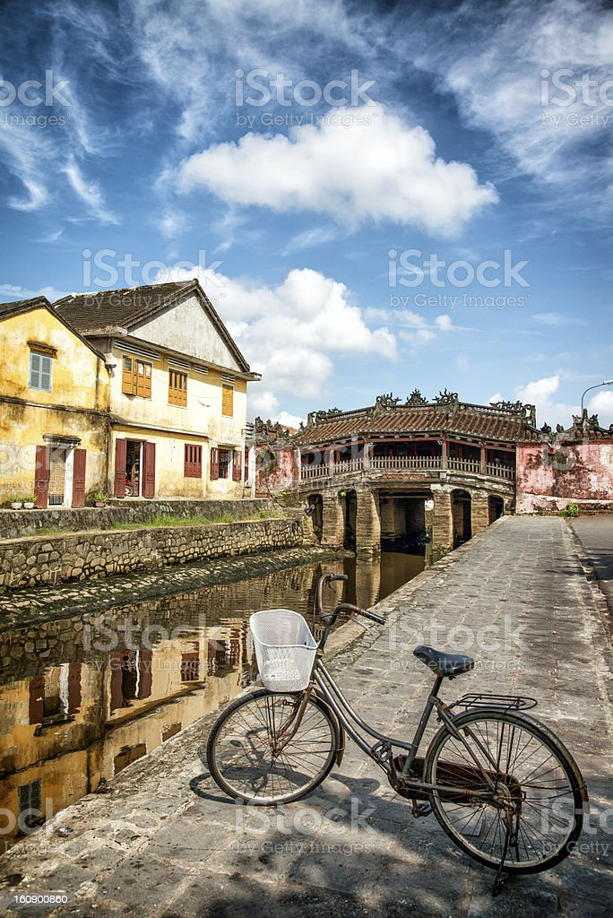 Japanese Covered Bridge Hoi An - Vietnam royalty-free stock photo