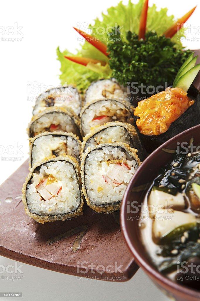 Japanese Cuisine royalty-free stock photo