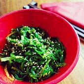 Japanese cuisine – wakame seaweed salad