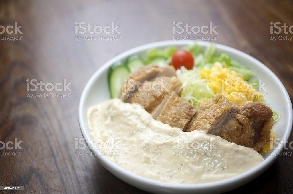 Japanese Cuisine?Chicken nanban royalty-free stock photo