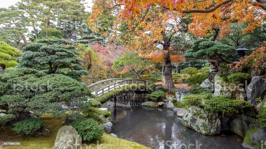 Japanese culture, arranged parks are the reason for many tourists to...