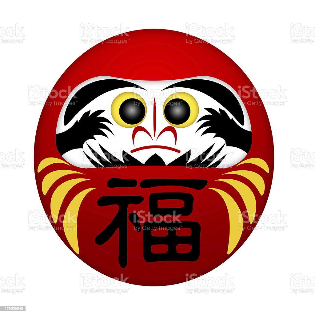 Japanese Daruma Doll stock photo