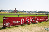 Japanese Derby Race Day in Japan