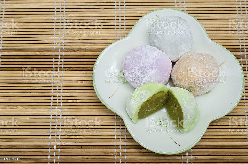 Japanese desserts stock photo