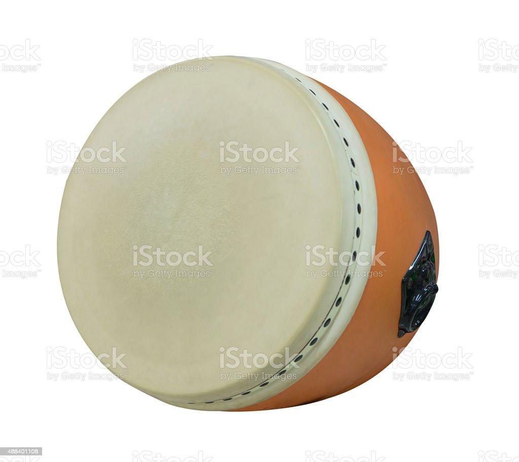 Japanese Drum Isolated stock photo