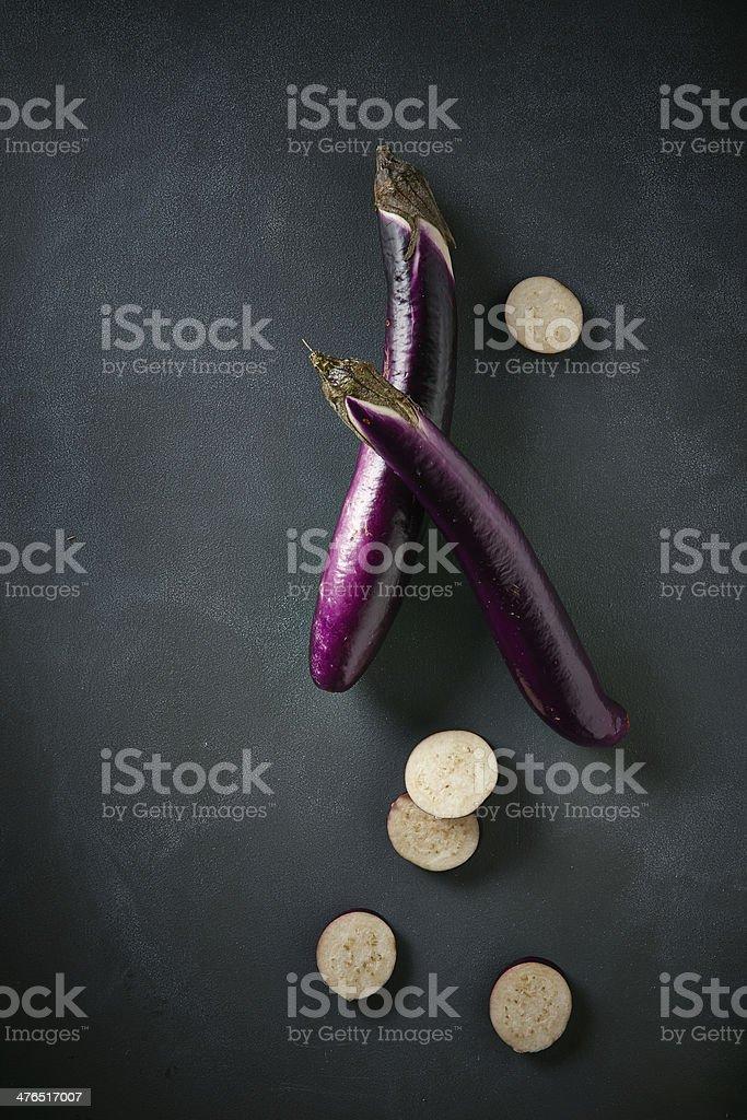 Japanese Eggplant stock photo