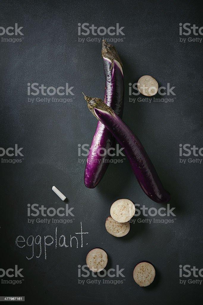 Japanese Eggplant royalty-free stock photo