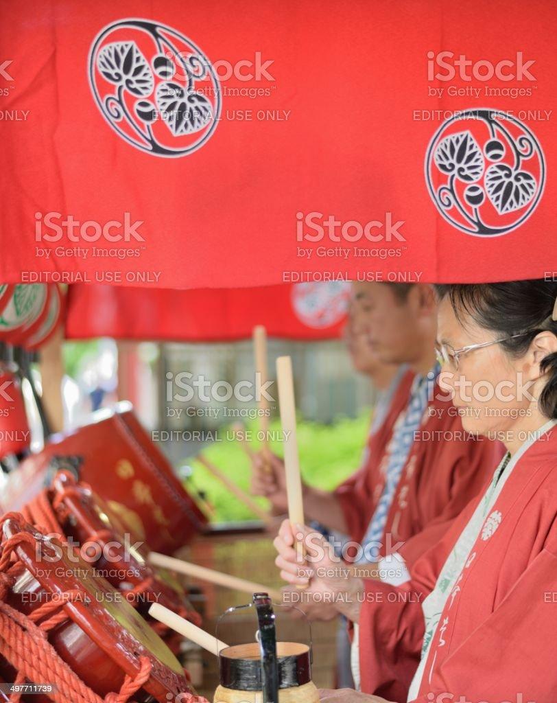 Japanese festival royalty-free stock photo