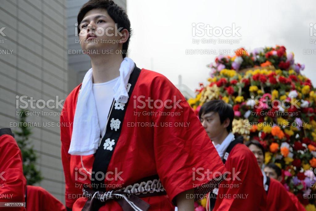 Japanese festival stock photo