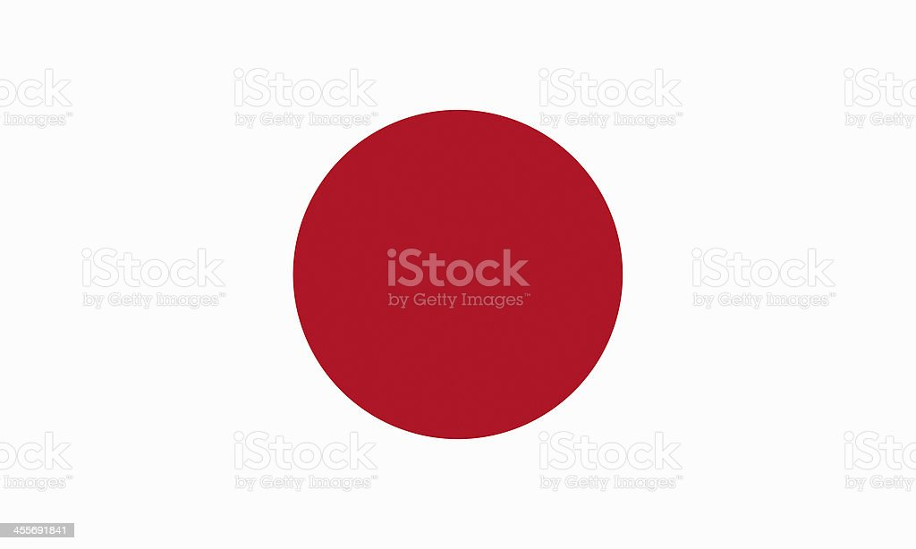 japanese flag royalty-free stock photo