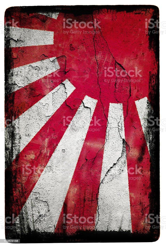 Japanese Flag XXL royalty-free stock photo