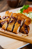 Japanese Food Pork Tonkatsu