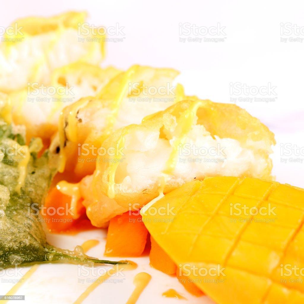 Japanese food-Cod fish stock photo