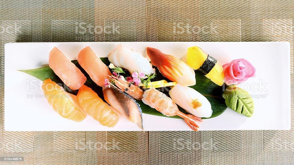 Japanese food-Sushi stock photo