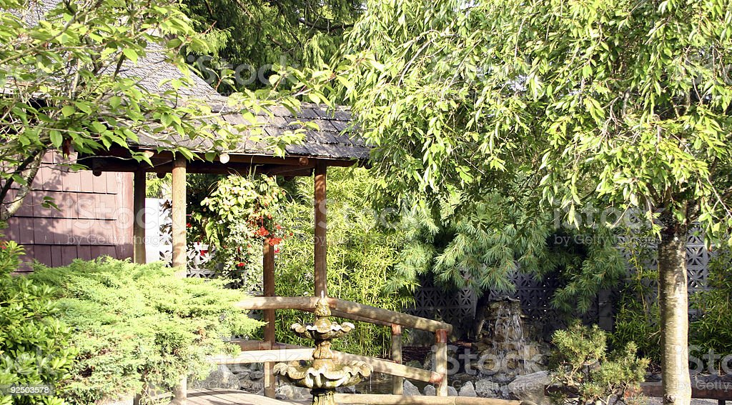 Japanese Garden 3 royalty-free stock photo