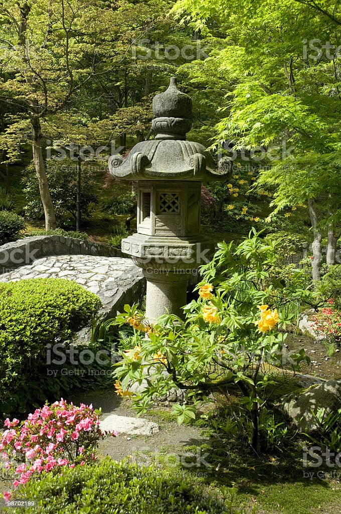 Japanese Garden 7 royalty-free stock photo