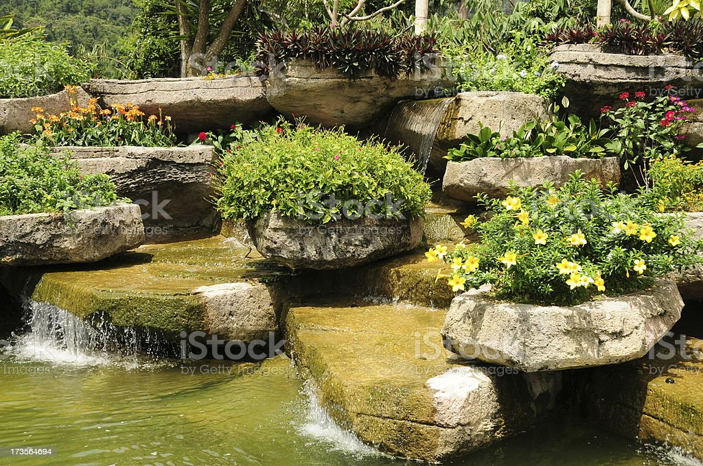 Japanese Garden - decoration stock photo