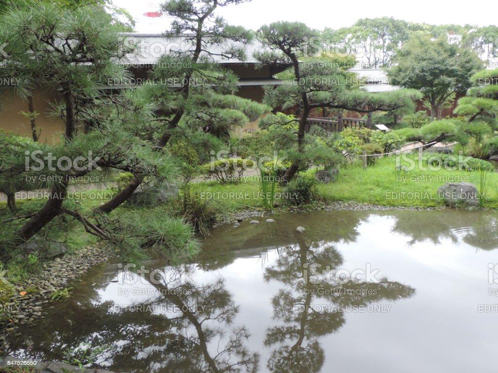 Japanese Garden in Tokorozawa 2 stock photo