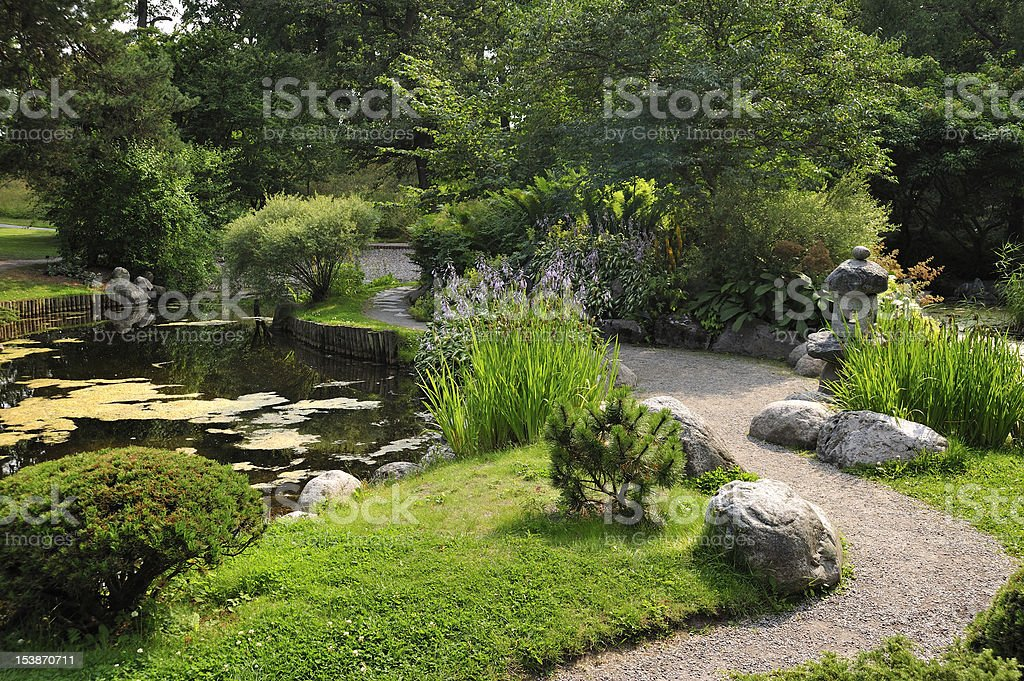 Japanese Garden stock photo