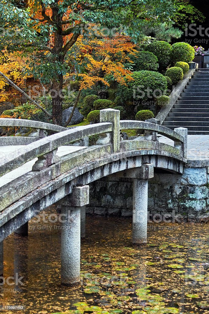Japanese Garden royalty-free stock photo
