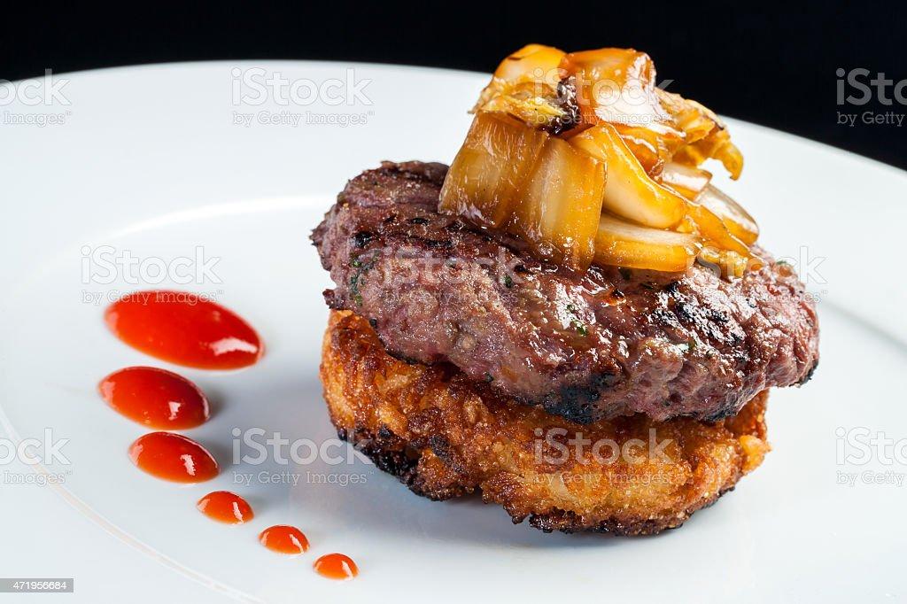 Japonais Hamburger. photo libre de droits