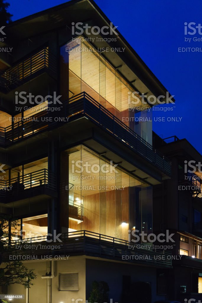 Japanese Hotel stock photo