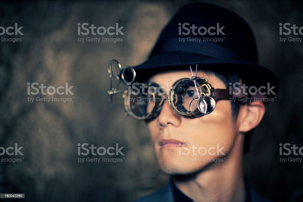 Japanese Inventor stock photo
