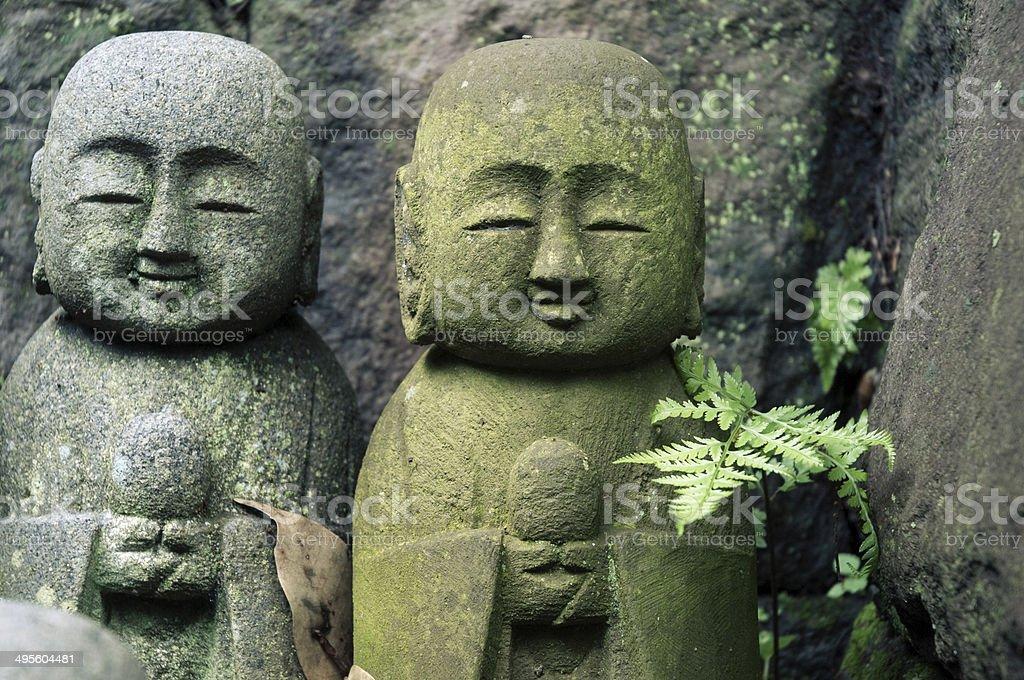 Japanese Jizo stock photo