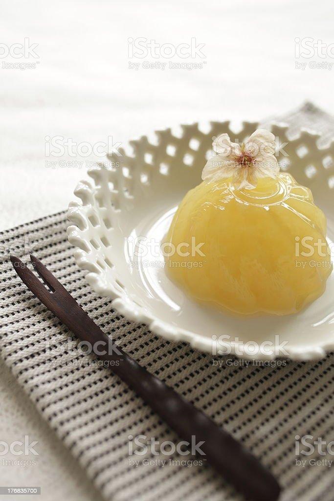 Japanese Kanten Jelly stock photo