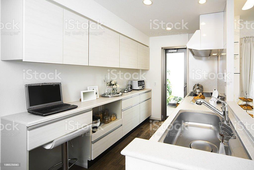 Japanese Kitchen Room royalty-free stock photo