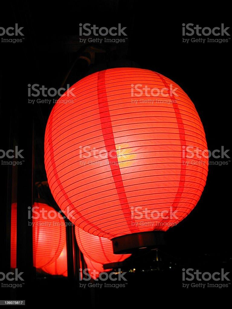 japanese lantern 3 royalty-free stock photo
