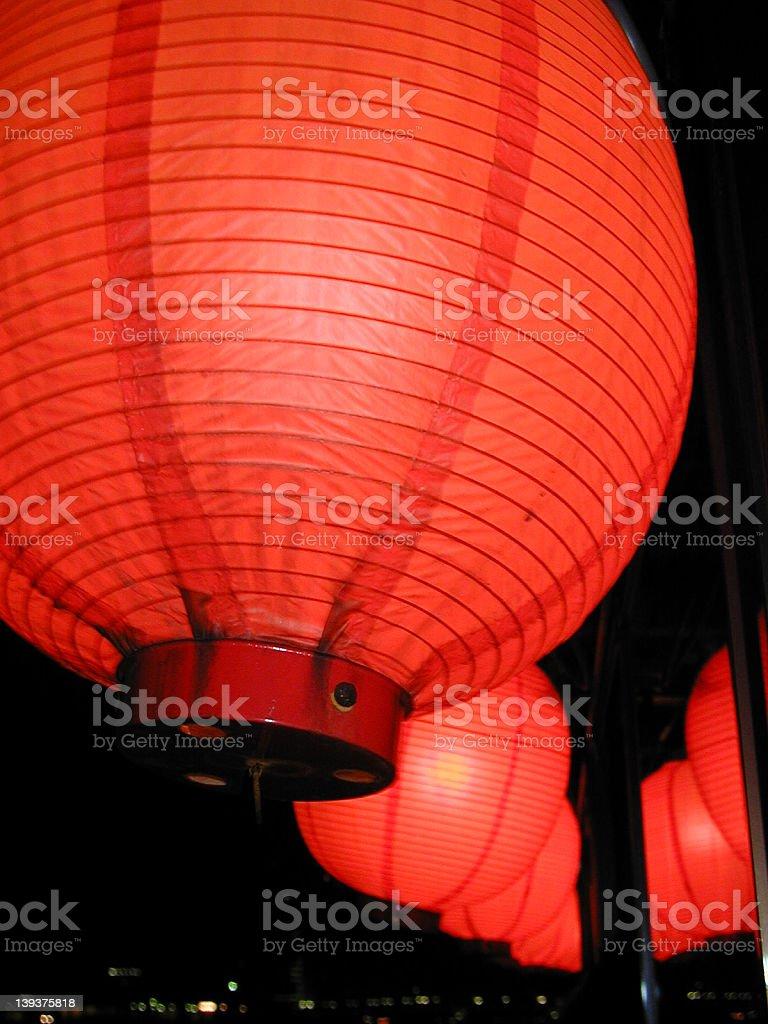 japanese lantern 4 royalty-free stock photo