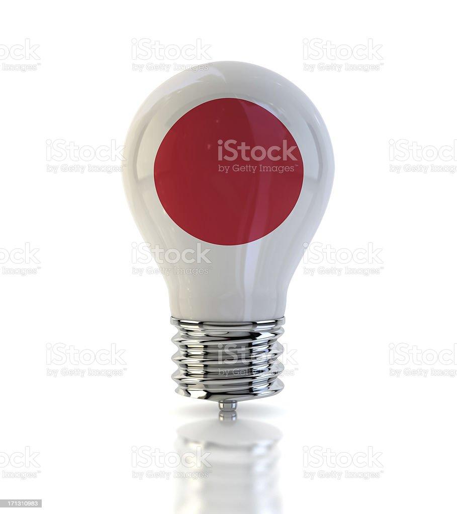 Japanese Light Bulb royalty-free stock photo