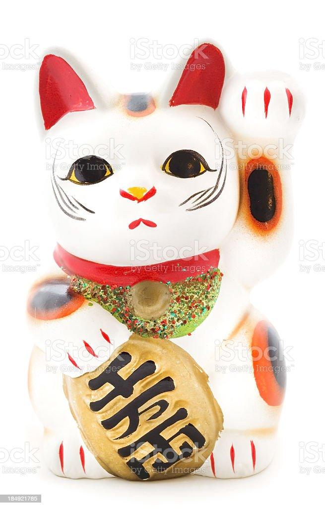 Japanese Lucky Cat stock photo