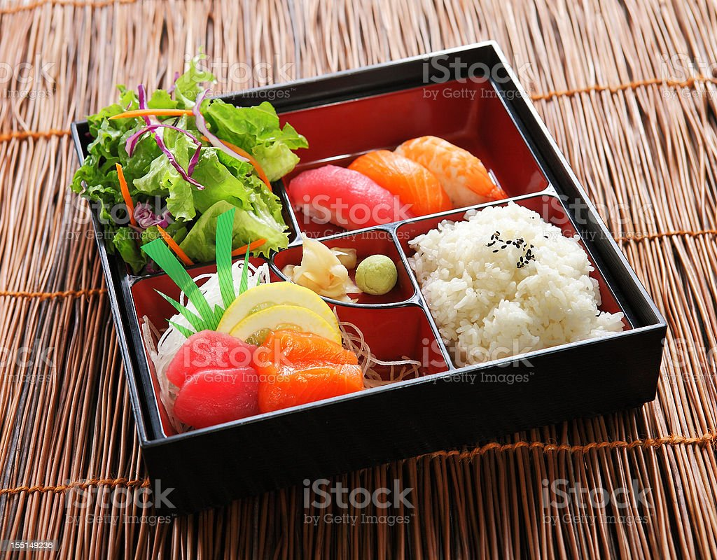 Japanese Lunch Box royalty-free stock photo