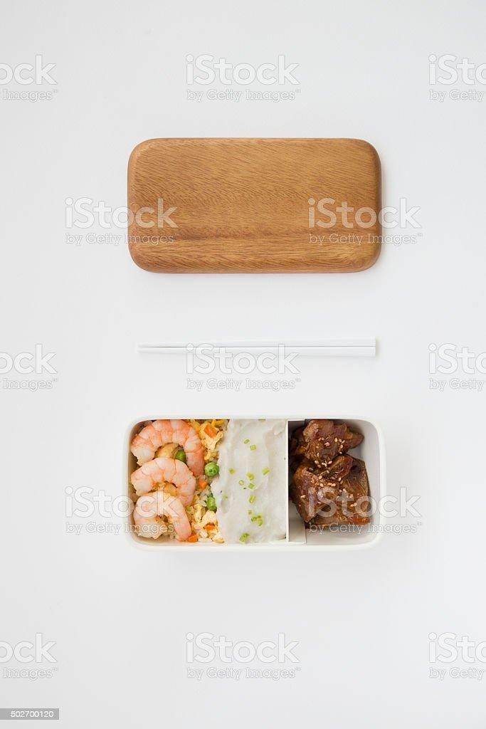 Japanese Lunch Box stock photo