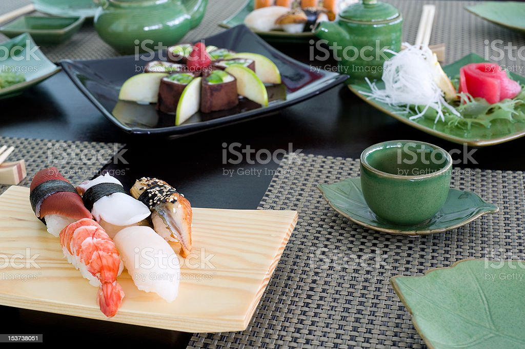 Japanese meal royalty-free stock photo