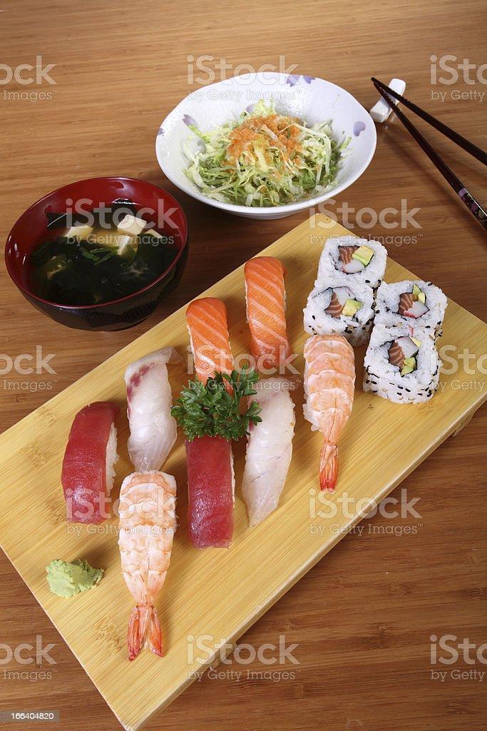 Japanese menu royalty-free stock photo