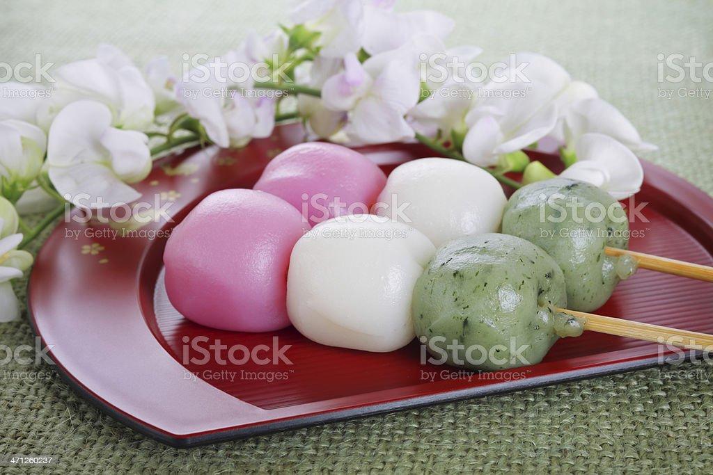 Japanese 'mochi' stock photo