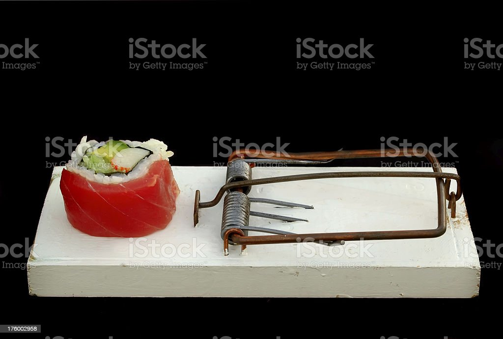 japanese mouse trap stock photo