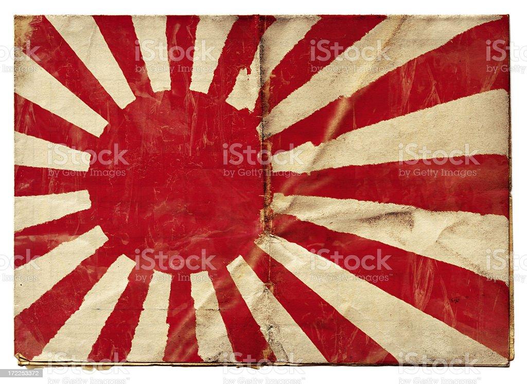 Japanese Naval Ensign (XXL) royalty-free stock photo