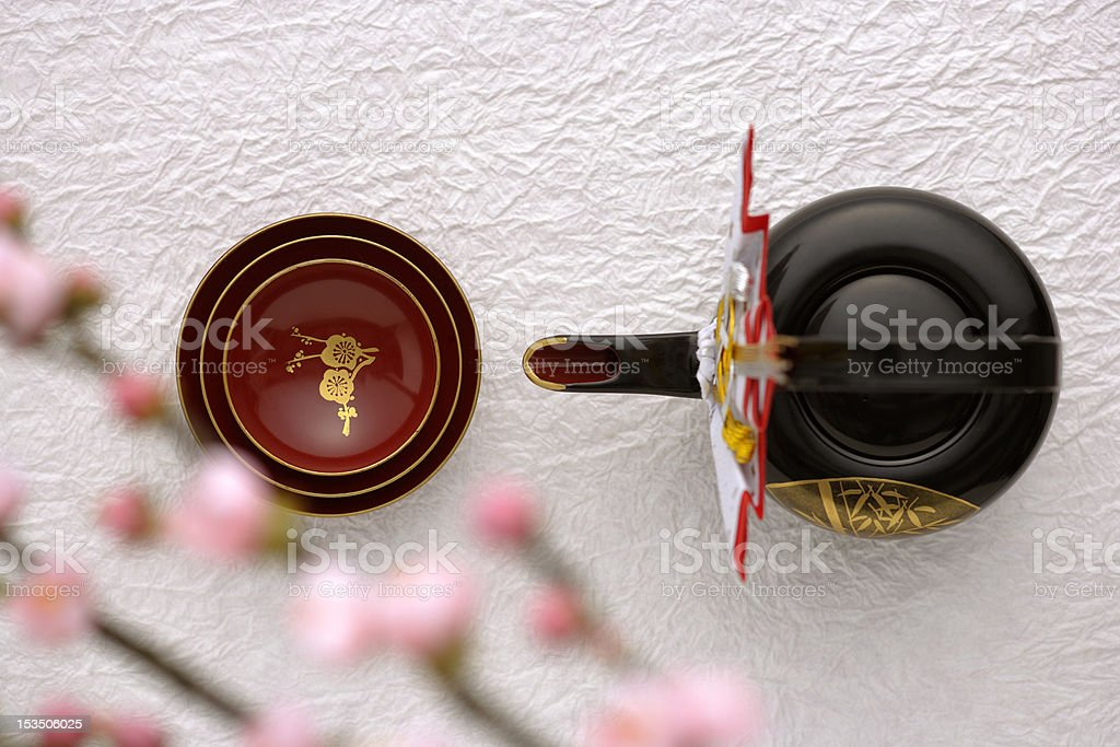 """Japanese New Year Culture""""Otoso"""" stock photo"""