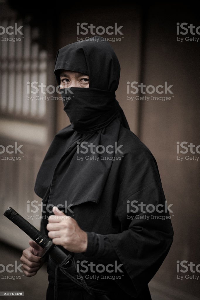 Japanese Ninja stock photo