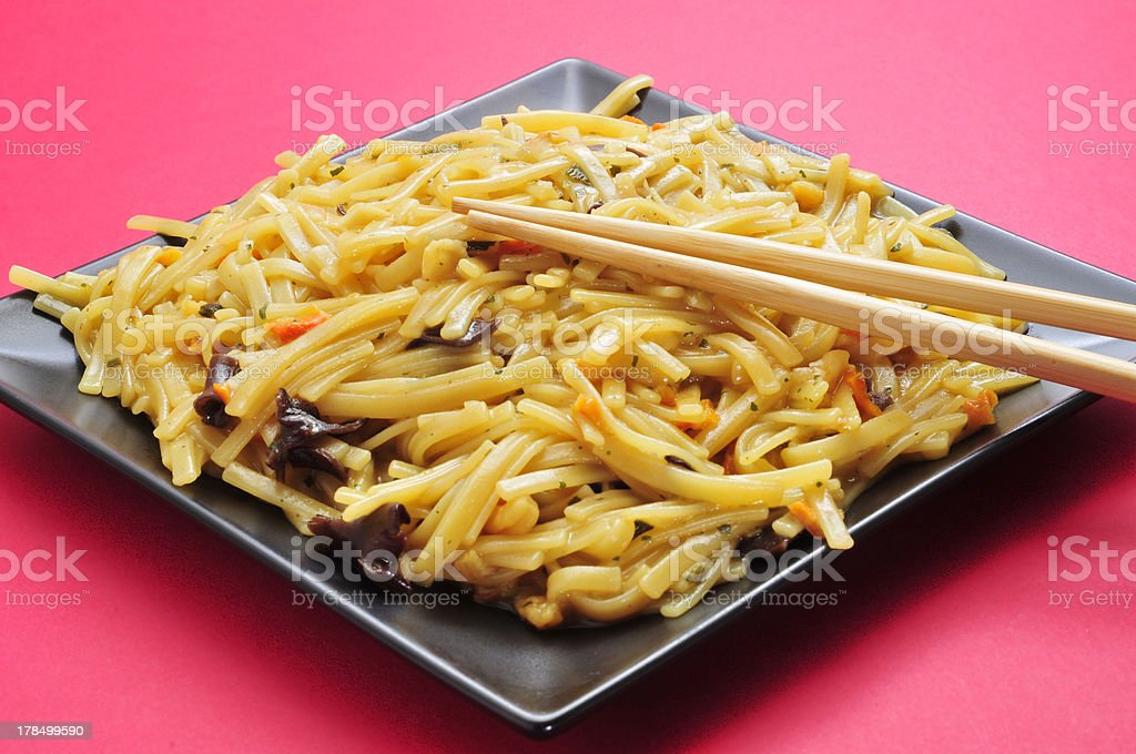 japanese noodles royalty-free stock photo