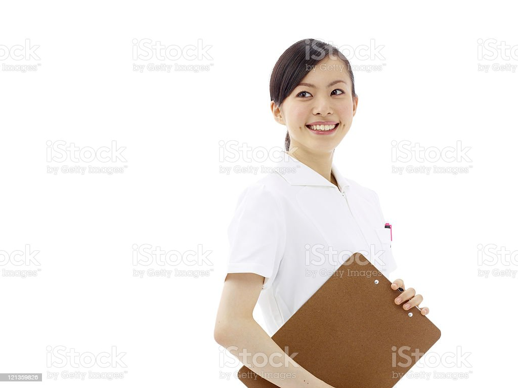Japanese Nurse royalty-free stock photo