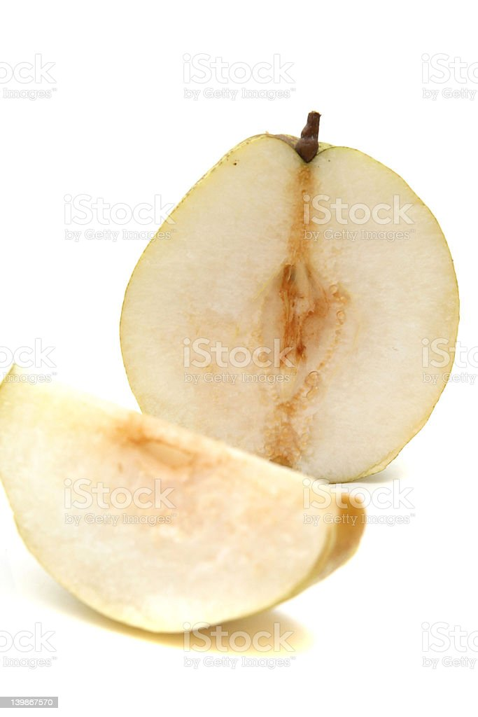 Japanese Pear royalty-free stock photo