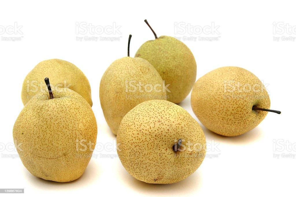 Japanese pears stock photo