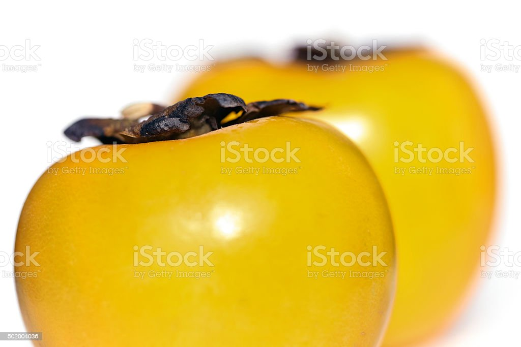 Japanese Persimmons stock photo